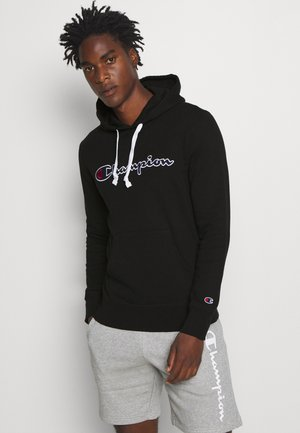 ROCHESTER HOODED - Kapuzenpullover - black