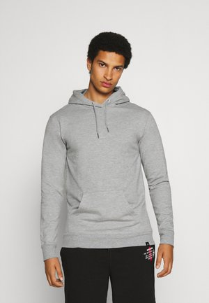 CORE HOOD - Bluza z kapturem - grey