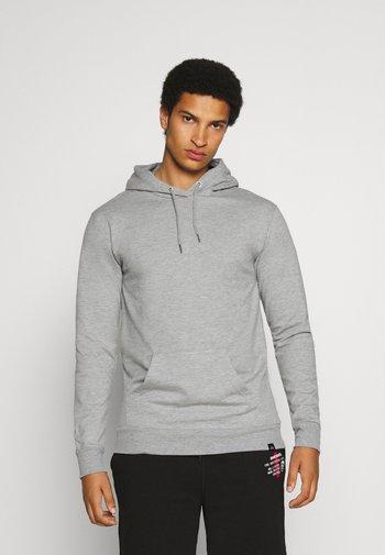 CORE HOOD - Felpa con cappuccio - grey