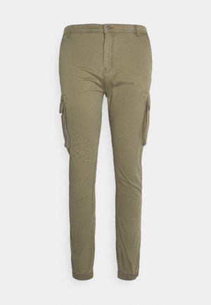 PANTS CROPED - Cargo trousers - army