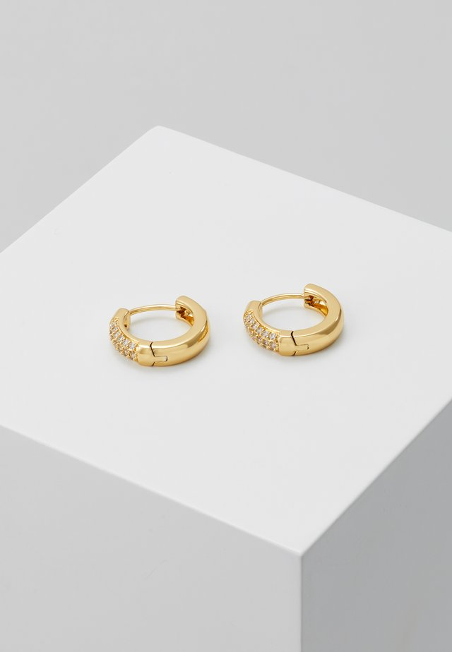 Náušnice - gold-coloured