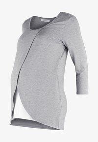 Zalando Essentials Maternity - Topper langermet - mid grey melange - 5