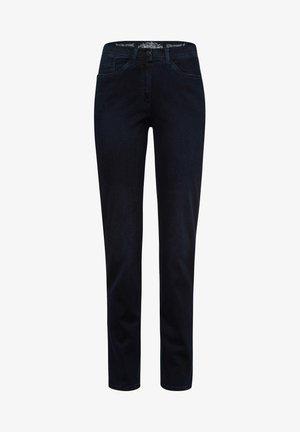 STYLE LAURA SLASH - Jeans slim fit - dark blue mit effekt