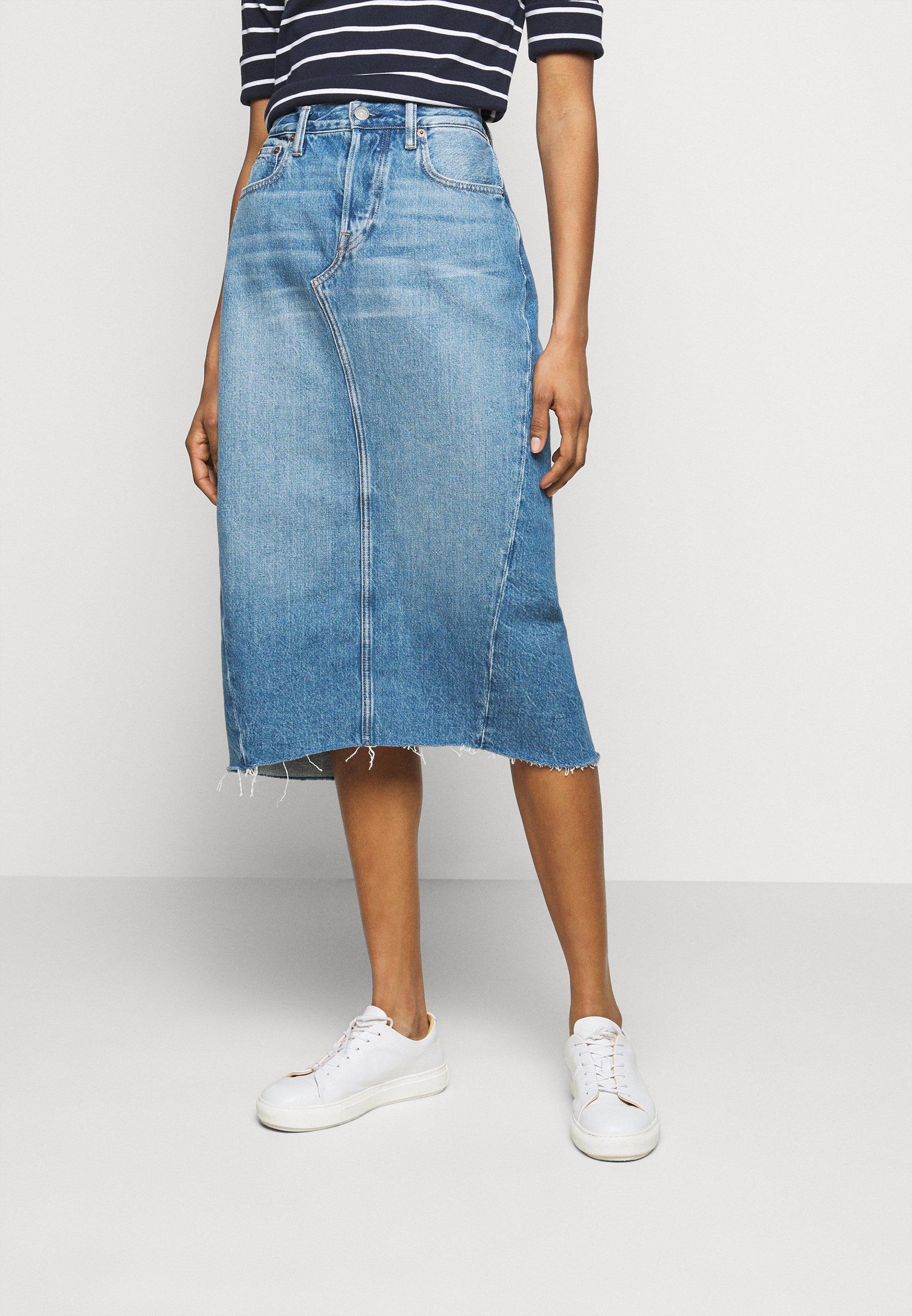 Femme ANGIE  - Jupe en jean