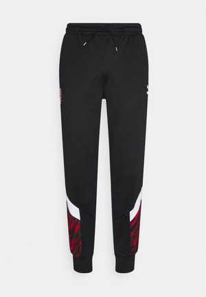 AC MAILAND ICONIC GRAPHIC TRACK PANTS - Club wear - tango red/black