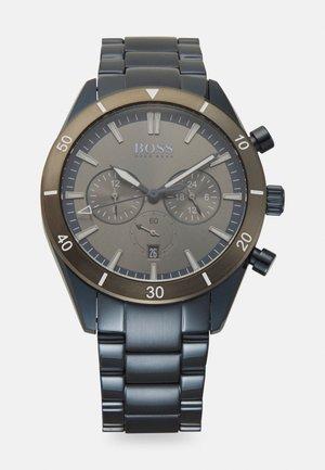 SANTIAGO - Chronograph watch - blue/grey