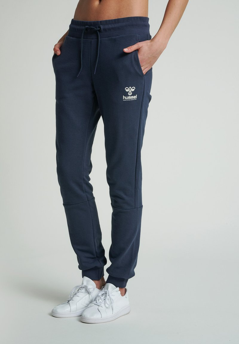 Hummel - HMLNONI - Tracksuit bottoms - blue nights