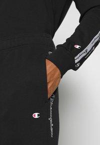Champion - CUFF PANTS - Pantaloni sportivi - black - 4