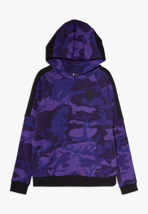 NBALOS ANGELES LAKERS HOODIE COURTSIDE  - Mikina na zip - court purple