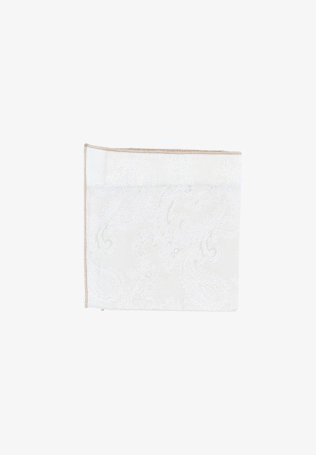 SHELBY - Pocket square - creme