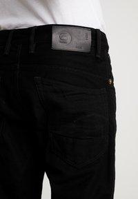 G-Star - STRAIGHT TAPERED - Straight leg jeans - zelz black denim - 3