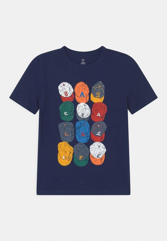 T-shirts print - elysian blue