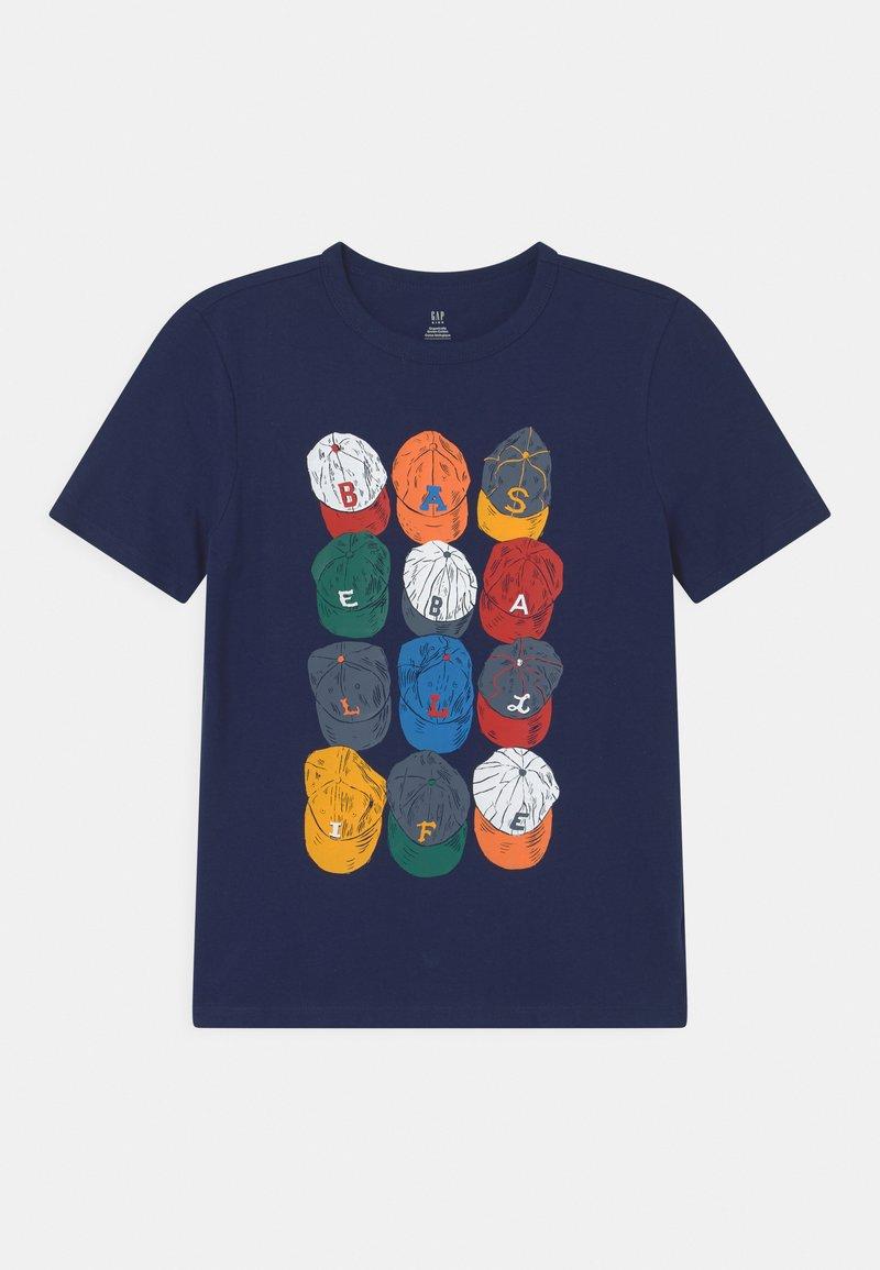 GAP - Print T-shirt - elysian blue
