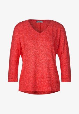 MELANGE-OPTIK - Pullover - rot