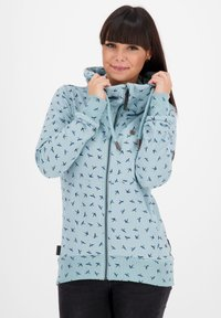 alife & kickin - Zip-up hoodie - light blue - 0