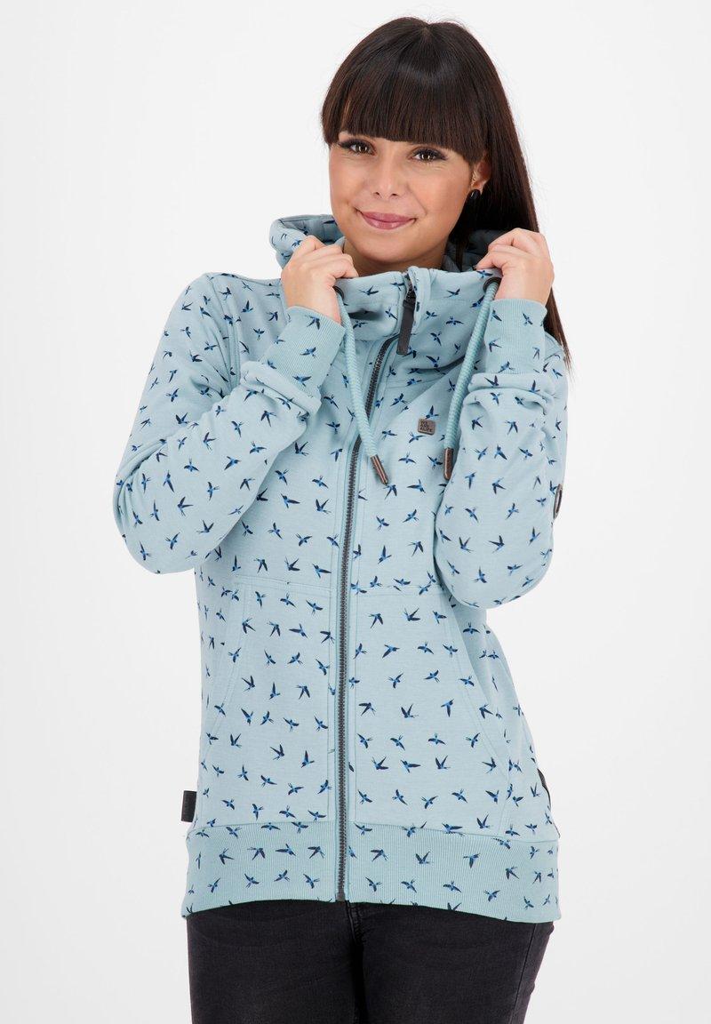 alife & kickin - Zip-up hoodie - light blue