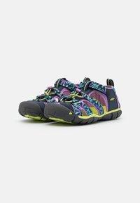 Keen - SEACAMP II CNX UNISEX - Chodecké sandály - black iris/african violet - 1