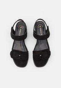 MIREIA PLAYÀ - VEGAN JANET - Sandaalit nilkkaremmillä - black - 5
