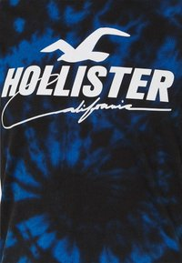 Hollister Co. - Print T-shirt - dark spiral wash - 2