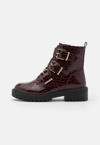 New Look - ANCHOR - Classic ankle boots - dark red - 1