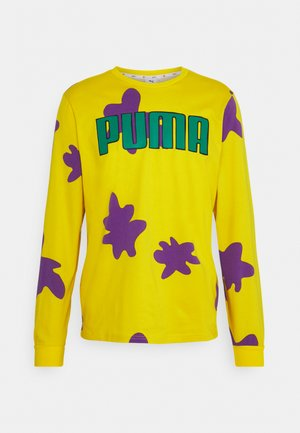 RUGRATS TEE - Long sleeved top - empire yellow