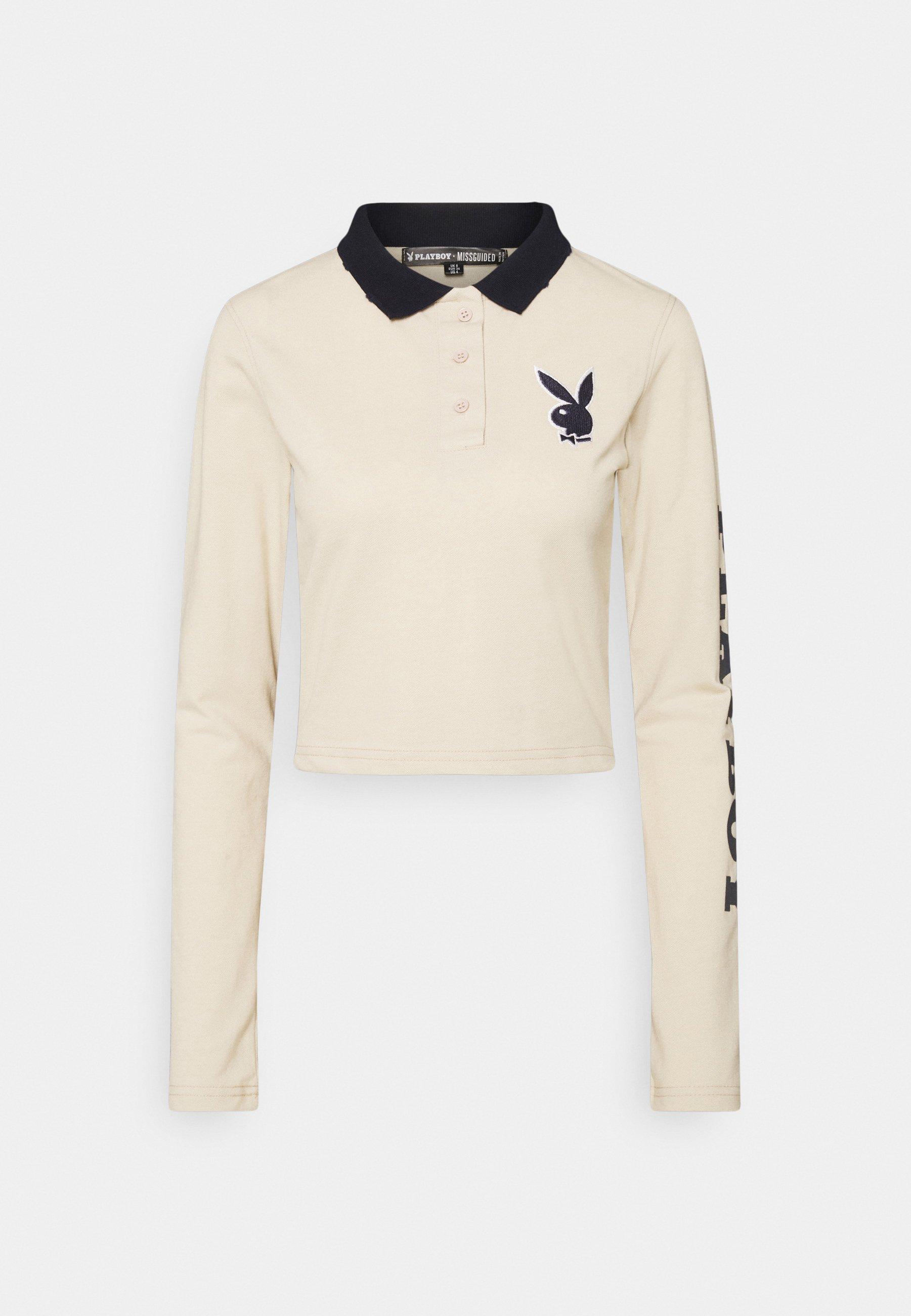 Women PLAYBOY VARSITY CROP - Polo shirt