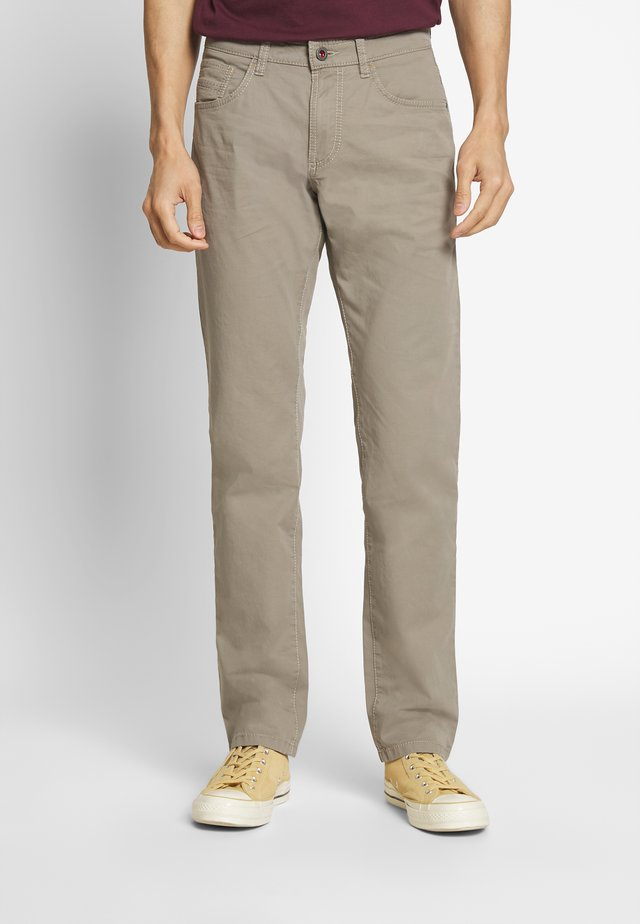 HOUSTON - Trousers - taupe