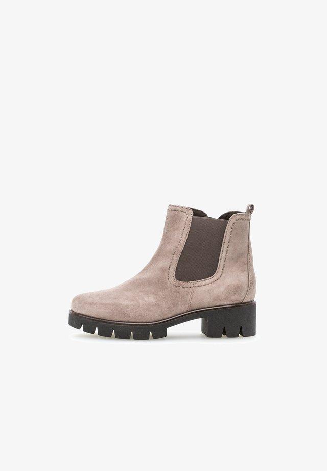 Platform ankle boots - rosa