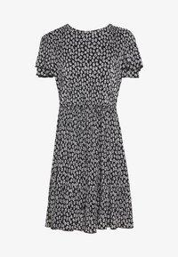 NAF NAF - Denní šaty - noir/ecru - 0