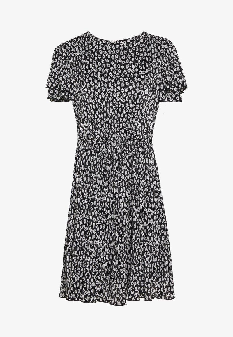 NAF NAF - Denní šaty - noir/ecru