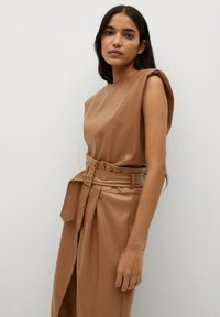 Mango - CARLO-I - Wrap skirt - marron - 2