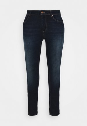 CARWILLY LIFE - Jeans Skinny Fit - dark blue denim