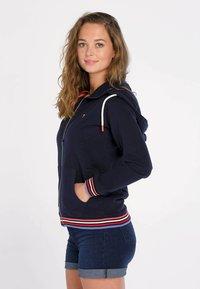 J&JOY - veste en sweat zippée - blauw - 4