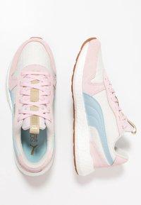 Puma - NRGY NEO RETRO SWEET - Neutrální běžecké boty - whisper white/barely pink/light sky - 1
