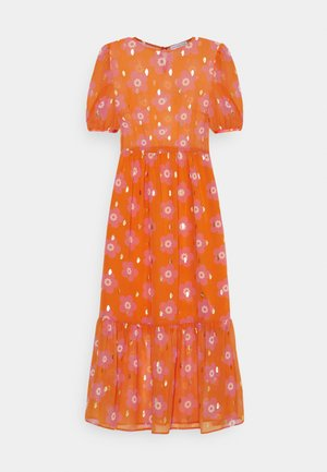 SIENNA FLORAL DRESSES - Robe longue - orange