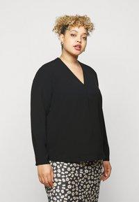 Selected Femme Curve - SLFUNA  - Pusero - black - 0