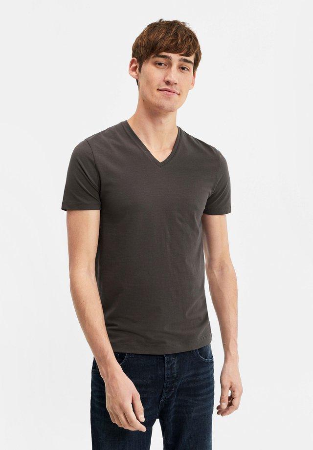 T-shirt basic - blended dark grey