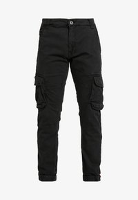 Alpha Industries - ARMY PANT - Bojówki - black - 4