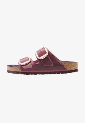 ARIZONA BIG BUCKLE - Slippers - zinfandel