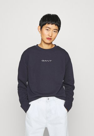 STRIPES C NECK - Sweatshirt - evening blue