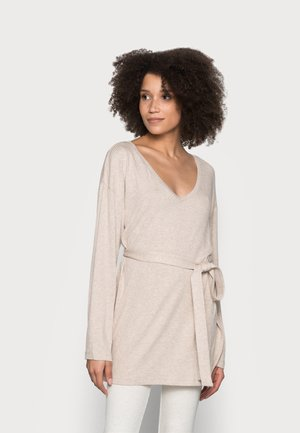 LOUNGE FILIPPA - Nightie - beige melange