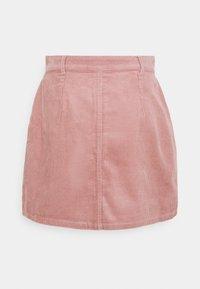 JDY - JDYSHIRAZ LIFE SHORT SKIRT - Mini skirt - woodrose - 1
