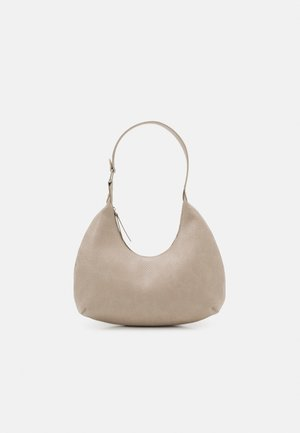 PCULLE SHOULDER BAG - Handväska - birch/silver
