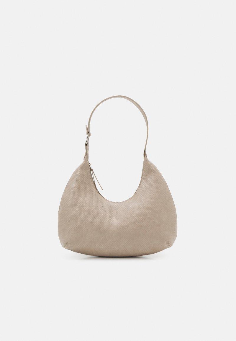 Pieces - PCULLE SHOULDER BAG - Käsilaukku - birch/silver