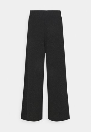 CILLA PARTY TROUSERS - Trousers - black