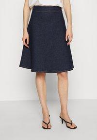 JUST FEMALE - WINNIE SKIRT - A-line skirt - dark denim - 0