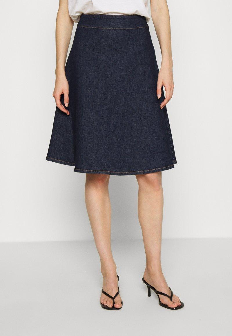 JUST FEMALE - WINNIE SKIRT - A-line skirt - dark denim