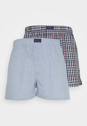 CHECK BOXER 2 PACK - Boxer shorts - classic blue