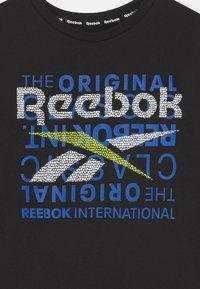 Reebok - ORIGINAL CLASSIC TEE - Print T-shirt - black - 2