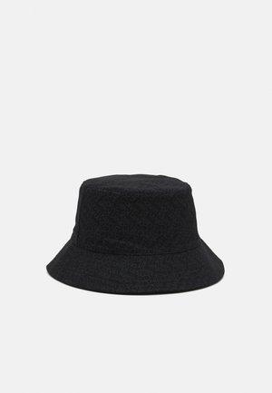 ZIG ZAG MONOGRAM BUCKET HAT UNISEX - Chapeau - black